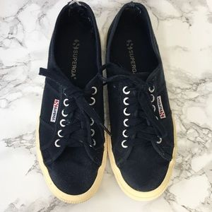 4/$20 Superga Blue Sneakers